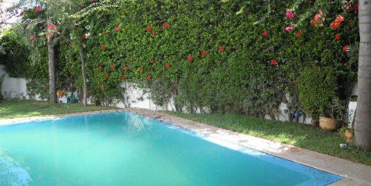 Villa vide à louer à Ain Diab