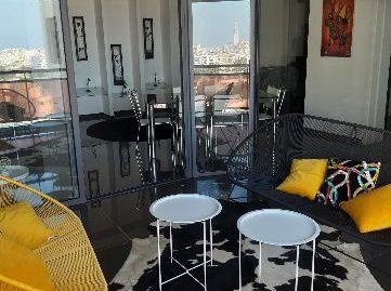 Appartement Meublé à louer à Maarif  Extention