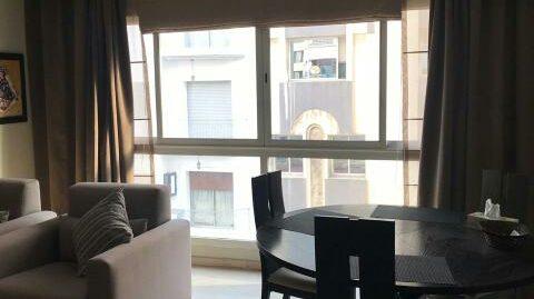 Appartement à louer meublé au triangle d'or