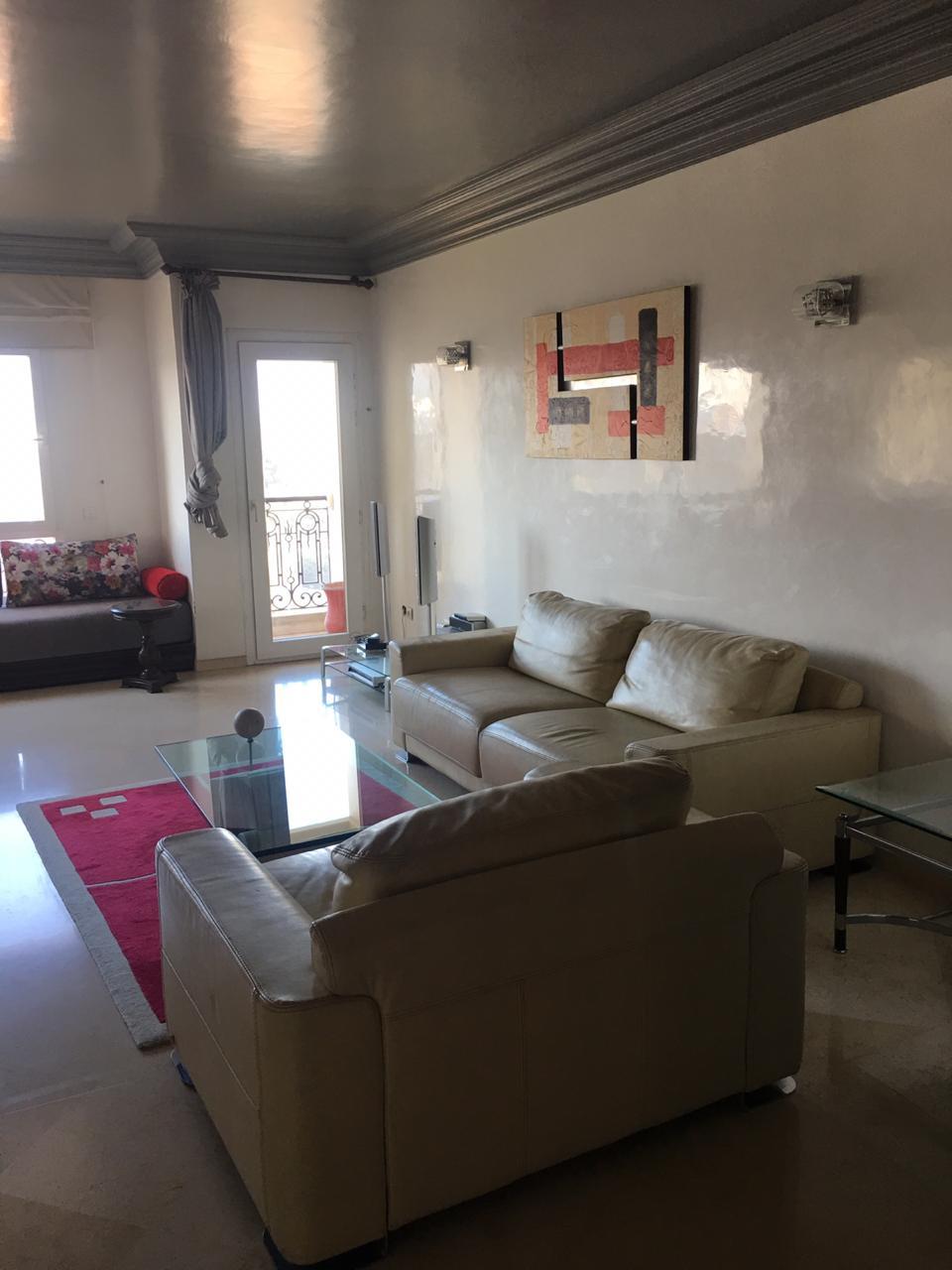 Appartement à louer meublé au Maarif