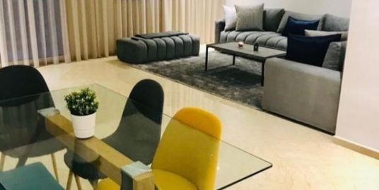 Bel appartement moderne à louer meublé à Casa Finance City