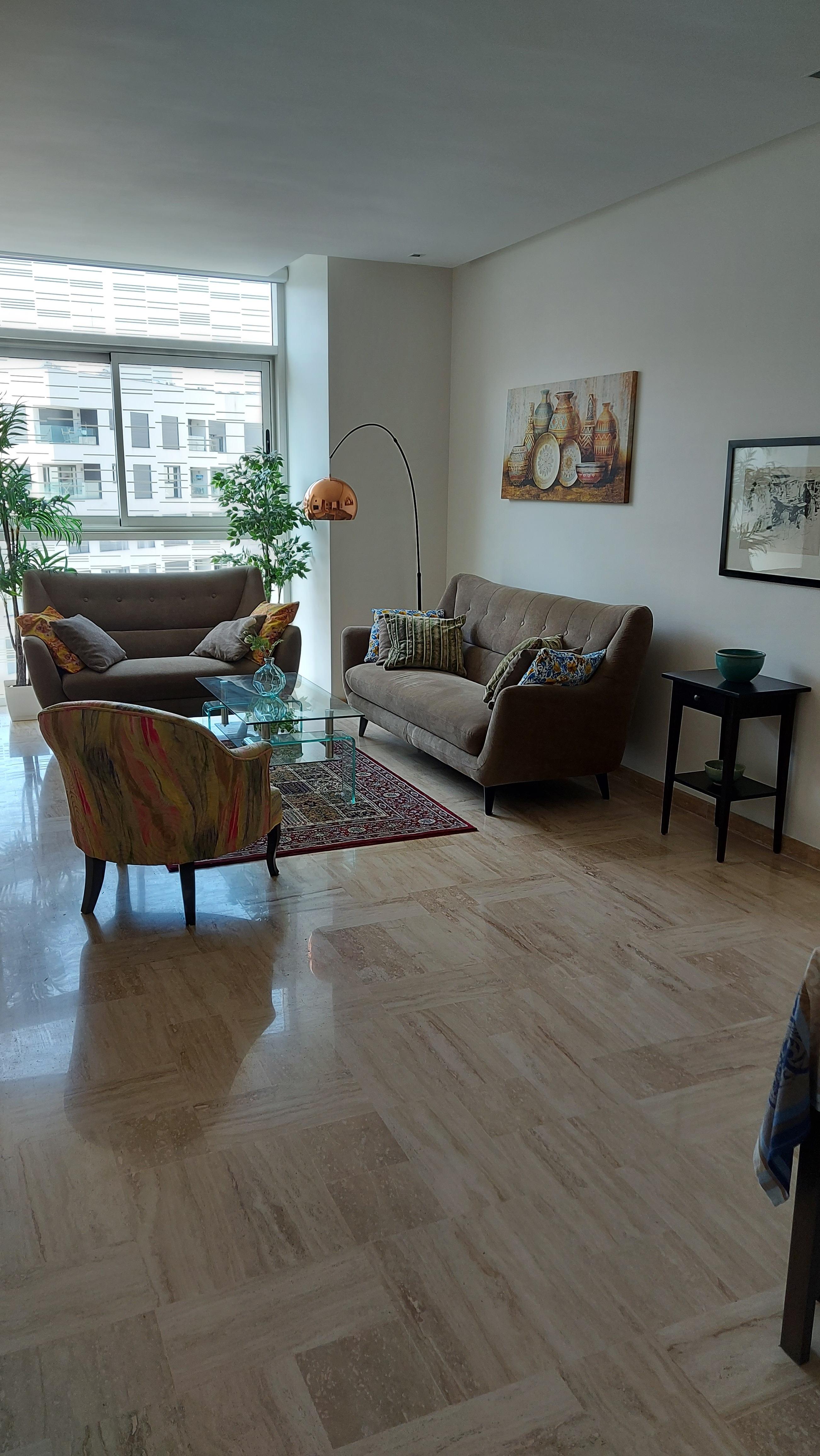 Appartement à louer meublé à Casablanca Finance City
